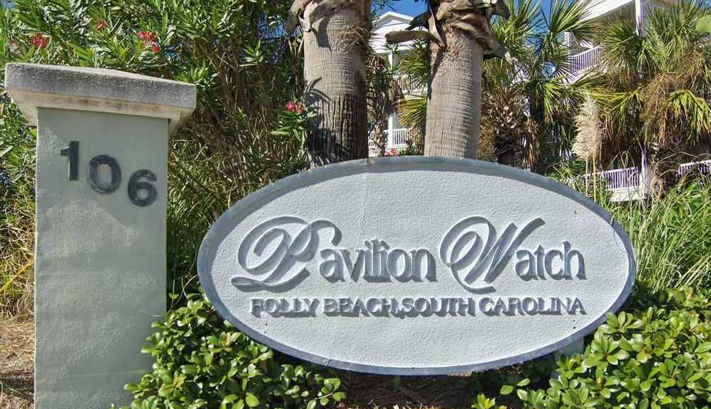 Pavilion Watch Sign